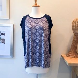 NWT Navy Large Loveappella Knit Top - Stitch Fix